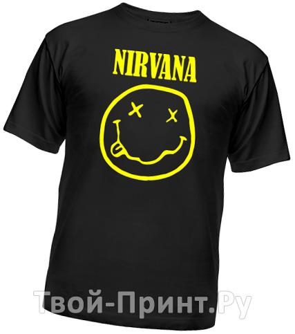 Футболки Nirvana