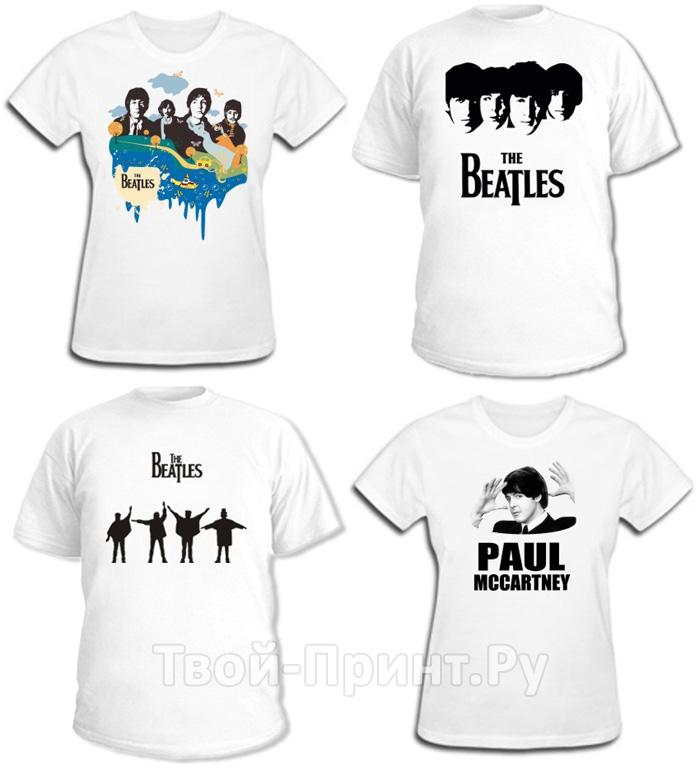 Футболки The Beatles
